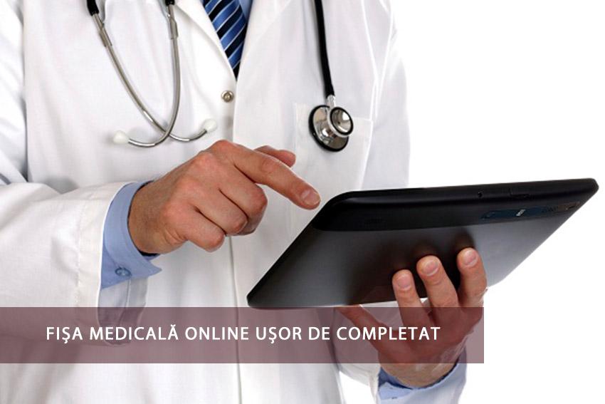 Fișa medicală online