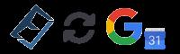 Evolvo google calendar syncronisation